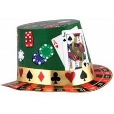Casino Night Hat Costume Accessorie