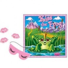 Princess Party Supplies - Party Game Kiss The Frog