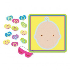 Baby Shower - General Pin the Pacifier Party Game