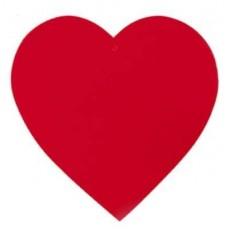 Love Red Heart Cutout