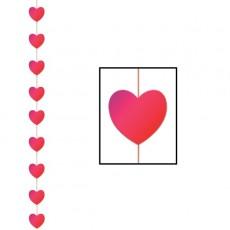 Love Heart Stringer Hanging Decoration 198cm