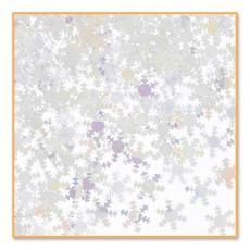 Christmas Iridescent Snowflakes Confetti