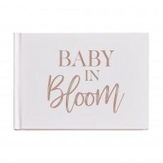 Baby in Bloom Party Supplies - Keepsake Book Guest