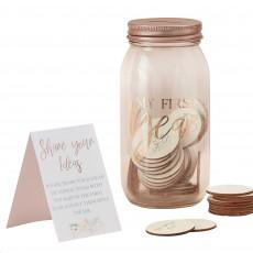 Baby in Bloom Party Supplies - Memory Jar
