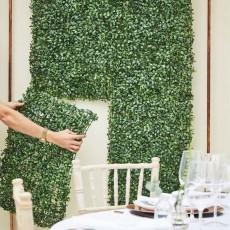 Wedding Party Decorations - Artificial Foliage Tile