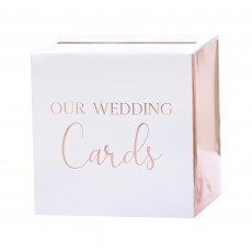 Wedding Botanical  Rose Gold Card Box Misc Accessorie