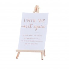 Wedding Botanical  Sign & Easel Commemorative Sign Misc Accessorie