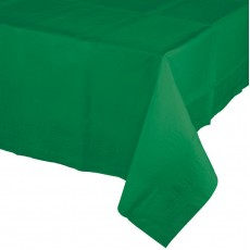 Green Emerald  Plastic Table Cover
