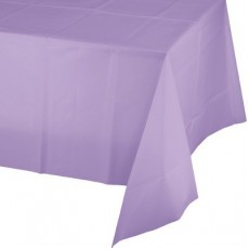 Lavender Party Supplies - Plastic Table Cover