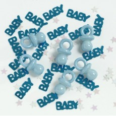 Baby Shower - General Blue Pacifier Confetti