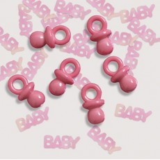 Baby Shower - General Pink  Confetti