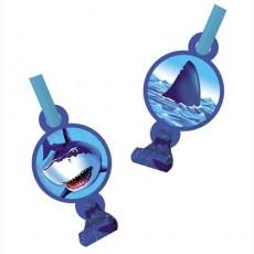 Shark Splash Blue  Blowouts