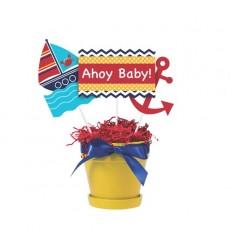 Ahoy Matey Sticks Centrepieces
