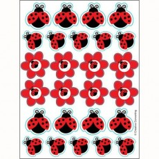 Ladybug Fancy Assorted Colours Stickers Favours