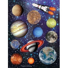 Space Blast Party Decorations - Stickers