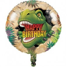 Dinosaur Dino Blast Foil Balloon