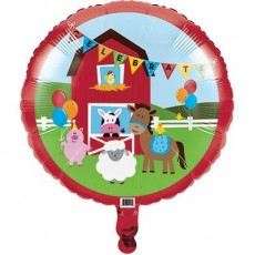 Farmhouse Fun Foil Balloon