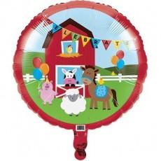 Farmhouse Fun Party Decorations - Foil Balloon