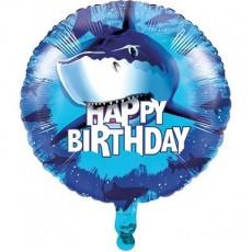 Shark Splash Foil Balloon