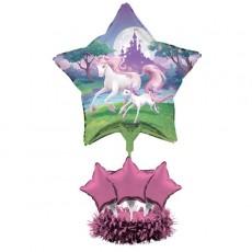 Unicorn Fantasy Air Filled Balloon Centrepiece