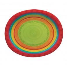 Caliente Sriracha Fiesta Paper Banquet Plates