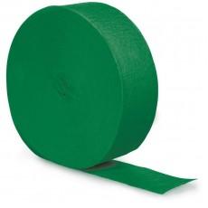 Green Emerald  Crepe Streamer