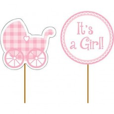 Baby Shower - General Pink  Party Picks