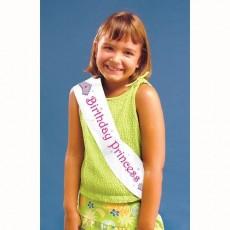 Happy Birthday Plastic Sash Costume Accessorie