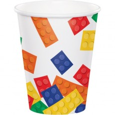 Block Party Party Supplies - Paper Cups