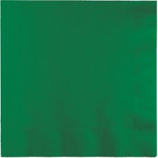Green Emerald  Beverage Napkins