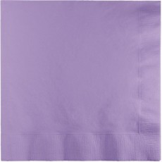 Lavender Party Supplies - Lunch Napkins