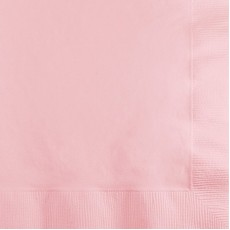 Classic Pink Lunch Napkins 33cm x 33cm Pack of 50