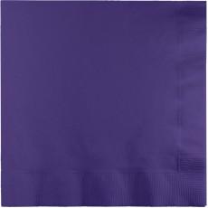 Purple Lunch Napkins