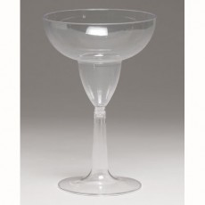 Clear Margarita Plastic Glasses