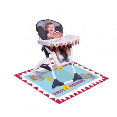 Boy Circus Time High Chair Kit Misc Decoration