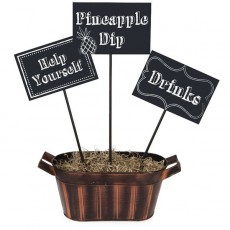 Chalkboard Sticks Centrepieces