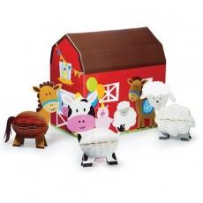 Farmhouse Fun Party Decorations - Centrepieces 3D Honeycomb