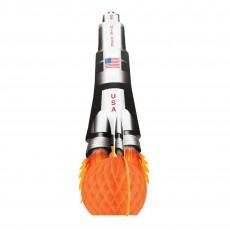 Space Blast Honeycomb Rocket Centrepiece