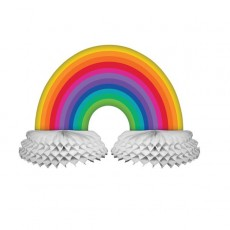 Rainbow Honeycomb Centrepiece