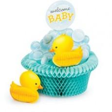 Bubble Bath Honeycomb Centrepiece