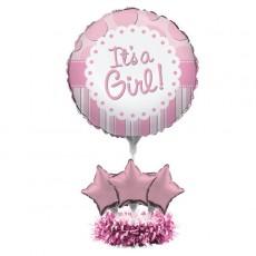 Baby Shower - General Pink  Centrepiece