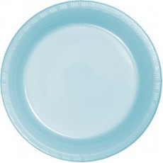 Blue Pastel  Lunch Plates