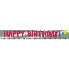 Happy Birthday Celebrations Banner