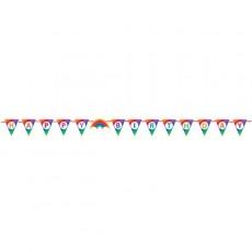 Rainbow Ribbon Pennant Banner 1.82m