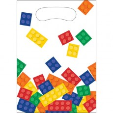 Block Party Party Supplies - Favour Bags Loot