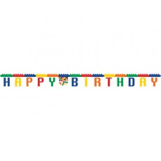 Block Party Party Decorations - Banner Jointed