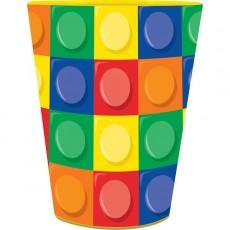 Block Party Party Supplies - Plastic Cup Souvenir Favour
