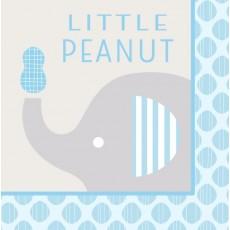 Little Peanut Boy Lunch Napkins
