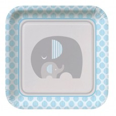 Little Peanut Boy Paper Dinner Plates