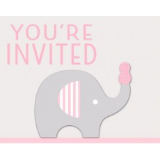Little Peanut Girl You're Invited Invitations